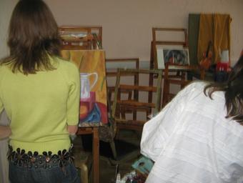 Курсы рисунка и живописи в изостудии